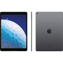 apple »ipad air - 64gb - wifi + cellular« tablet (10,5'', 64 gb, ios, 4g (lte)) grijs