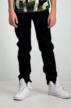 slim fit jeans van garcia zwart