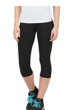 trigema capri-leggings zwart