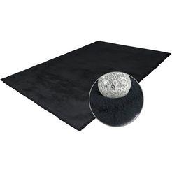 hoogpolig vloerkleed, »rabbit 100«, arte espina, rechthoekig, hoogte 45 mm, handgetuft grijs