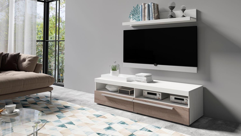 Helvetia Meble tv-meubel Roger Breedte 140 cm in de webshop van OTTO kopen
