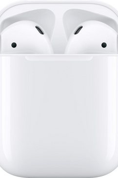 apple »airpods met charging case 2019« in-ear-hoofdtelefoon (bluetooth, spraakbesturing) wit