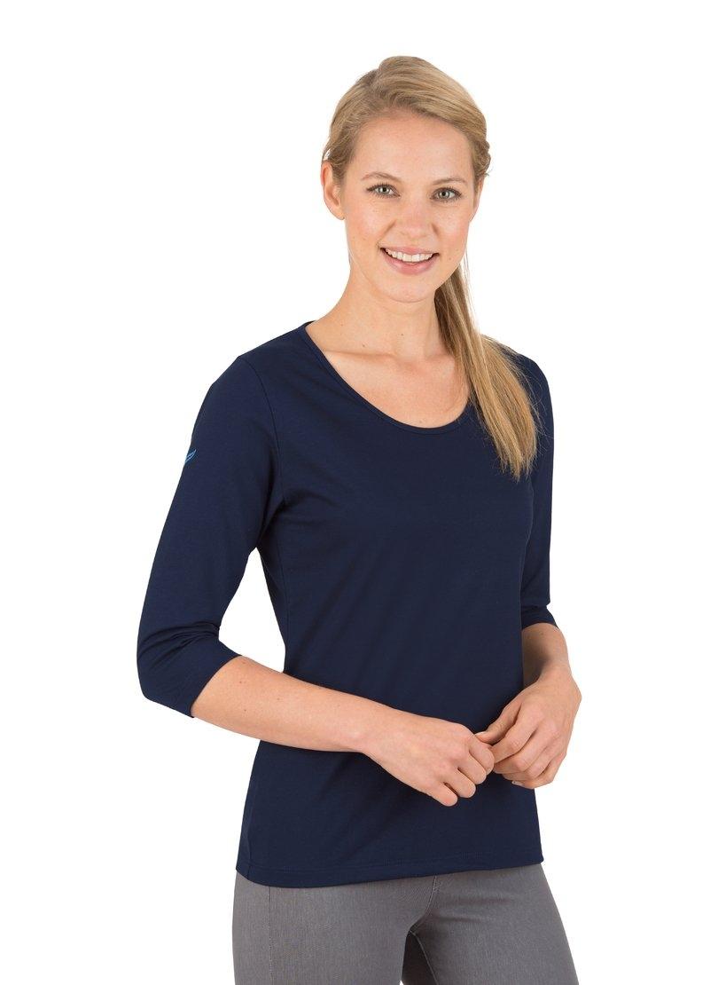 Trigema Shirt met 3/4-mouw van biokatoen - verschillende betaalmethodes