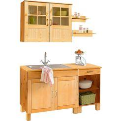 keukenblok »alby« breedte 150 cm beige