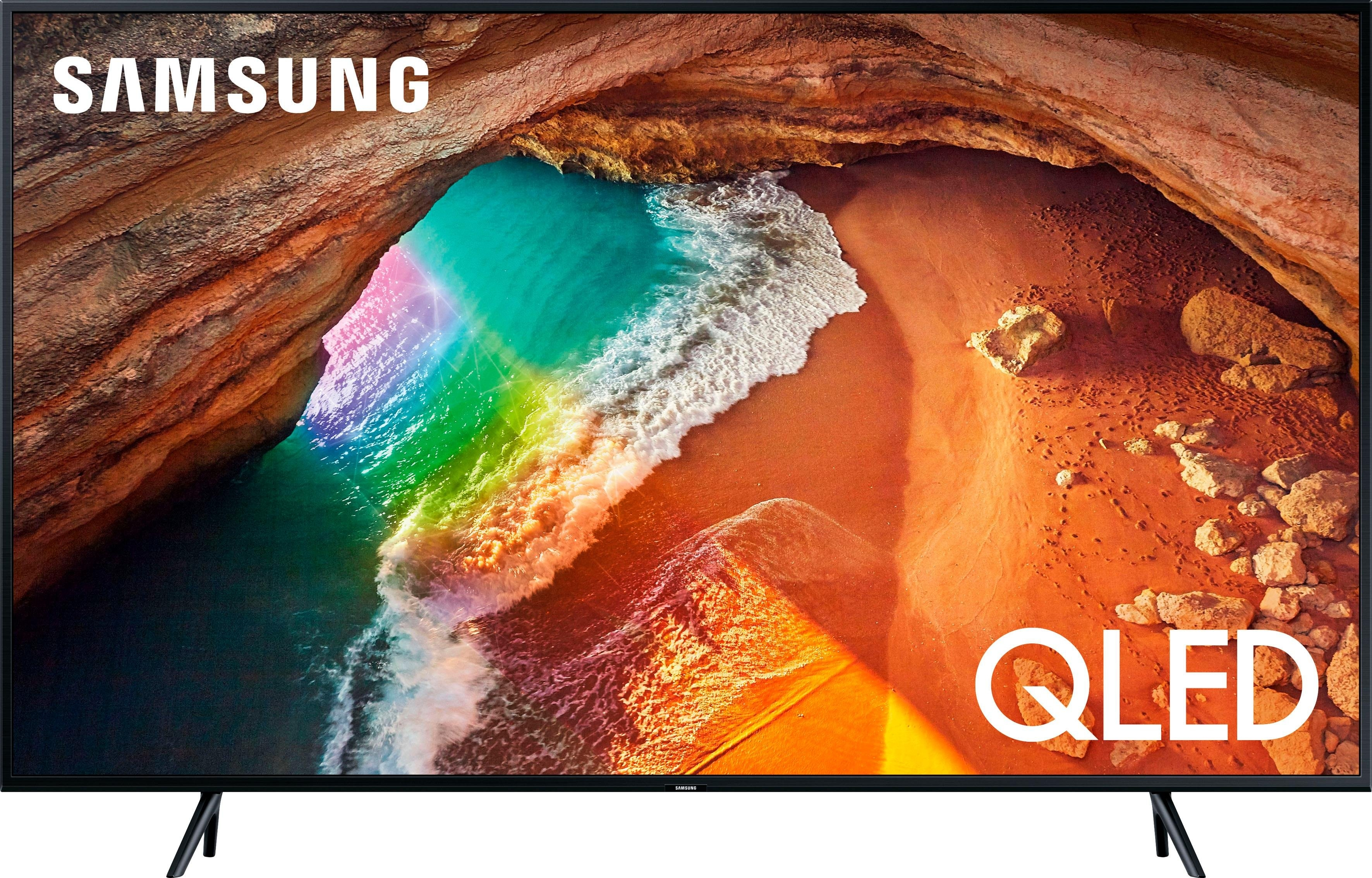 SAMSUNG GQ65Q60RGTXZG QLED-tv (163 cm / 65 inch), 4K Ultra HD, Smart-TV voordelig en veilig online kopen