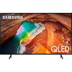 samsung gq43q60rgtxzg qled-tv (108 cm - 43 inch), 4k ultra hd, smart-tv zwart