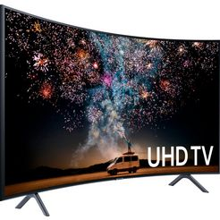 samsung ue49ru7379 curved led-tv (123 cm - 49 inch), 4k ultra hd zwart