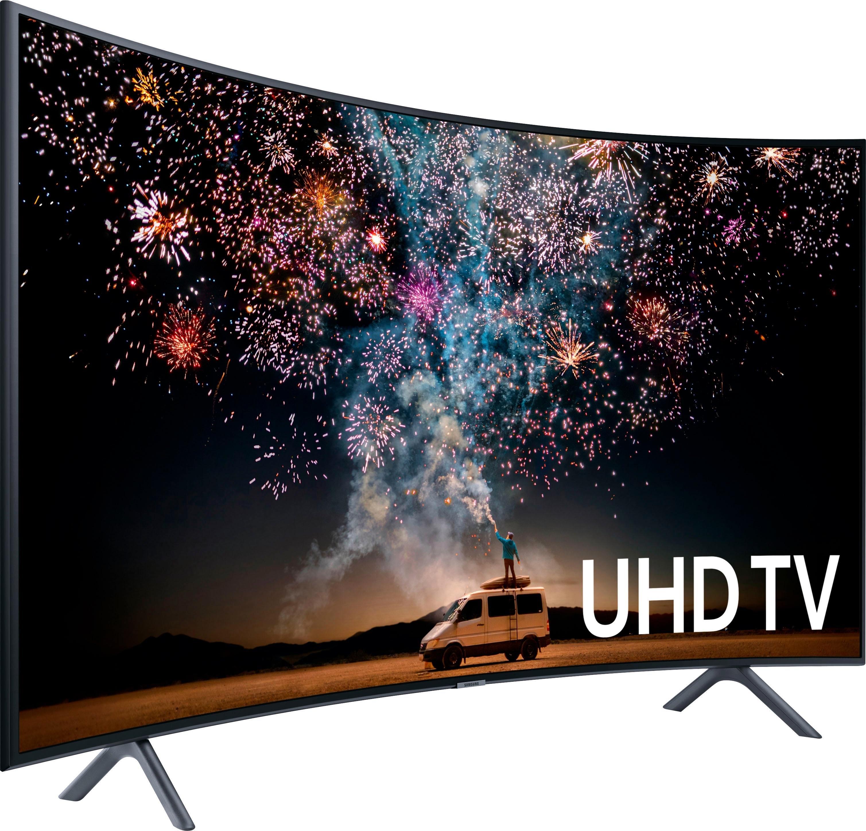 SAMSUNG UE49RU7379 curved led-tv (123 cm / 49 inch), 4K Ultra HD - verschillende betaalmethodes
