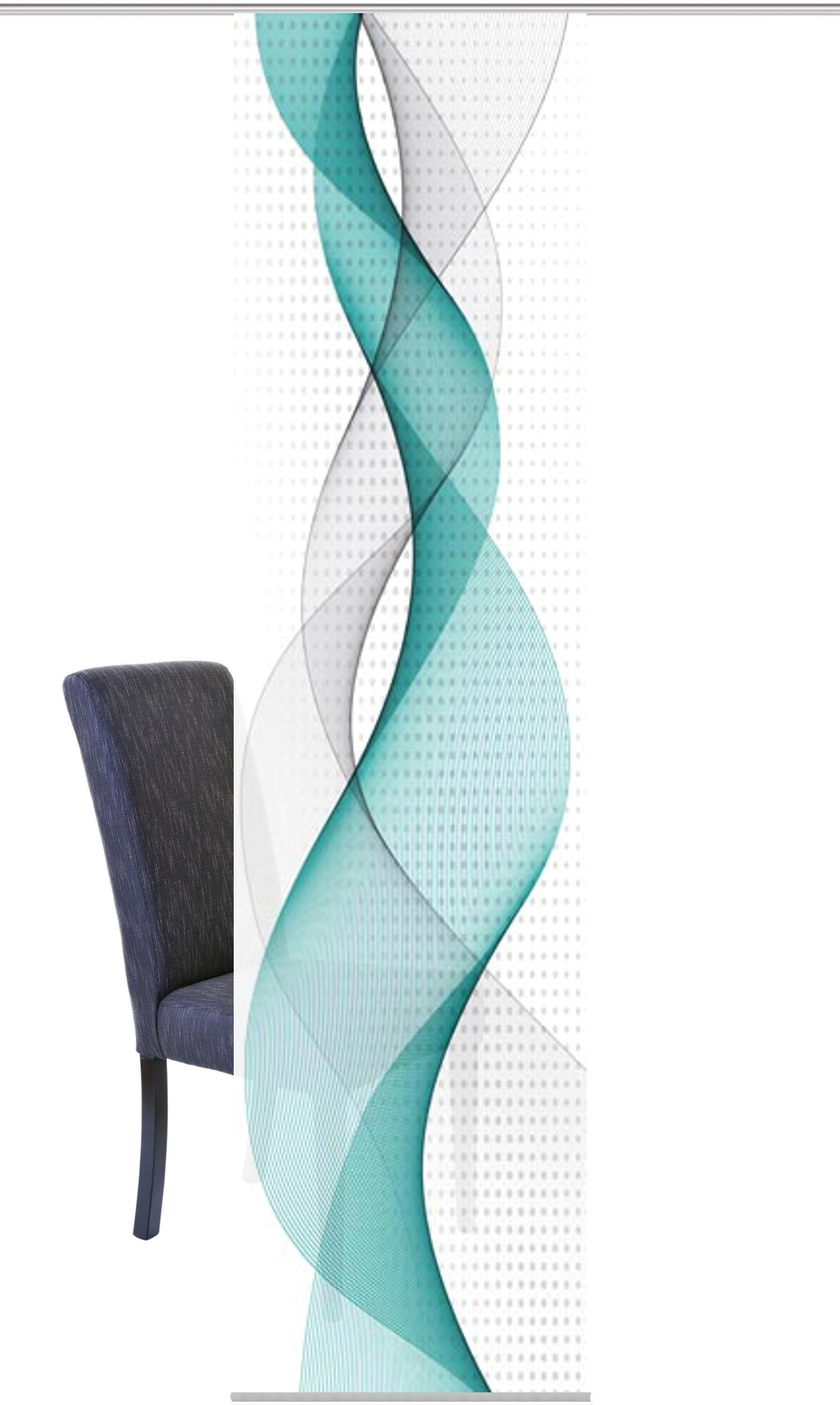Vision S paneelgordijn OPALIA HxB: 245x60, digitale print van decostof (1 stuk) in de webshop van OTTO kopen
