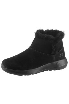 skechers winterlaarzen »on the go joy - bundle up« zwart