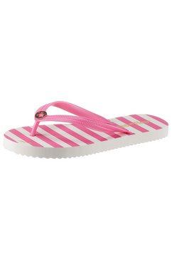 flip flop teenslippers »goldflower stripe« roze