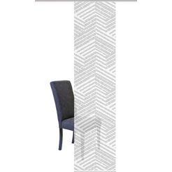 vision s paneelgordijn »drikori«, 1 stuk grijs