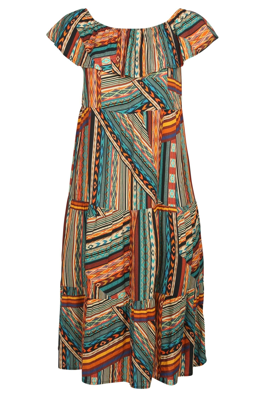 Op zoek naar een Paprika Lange jurk met wasprint? Koop online bij OTTO