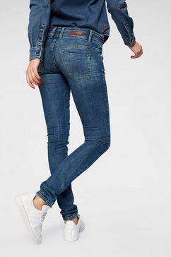 ltb skinny fit jeans »julita x« blau