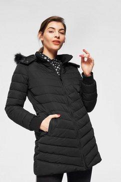 ltb doorgestikte jas »hisaba« zwart