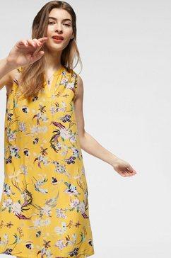 q-s designed by gedessineerde jurk geel