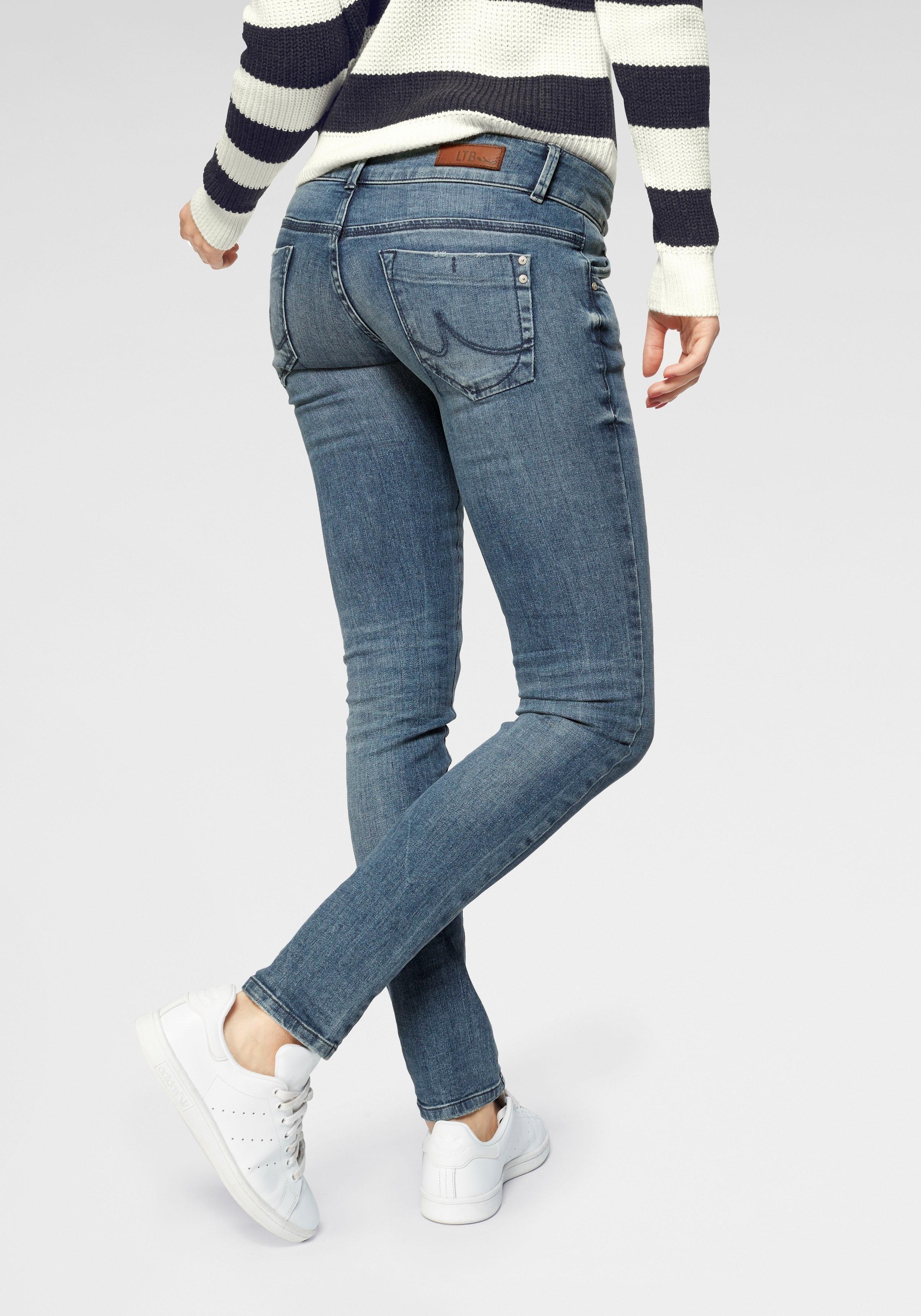 LTB slim fit jeans »MOLLY« - gratis ruilen op otto.nl