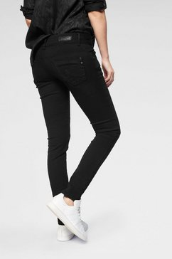 ltb slim fit jeans »molly« zwart