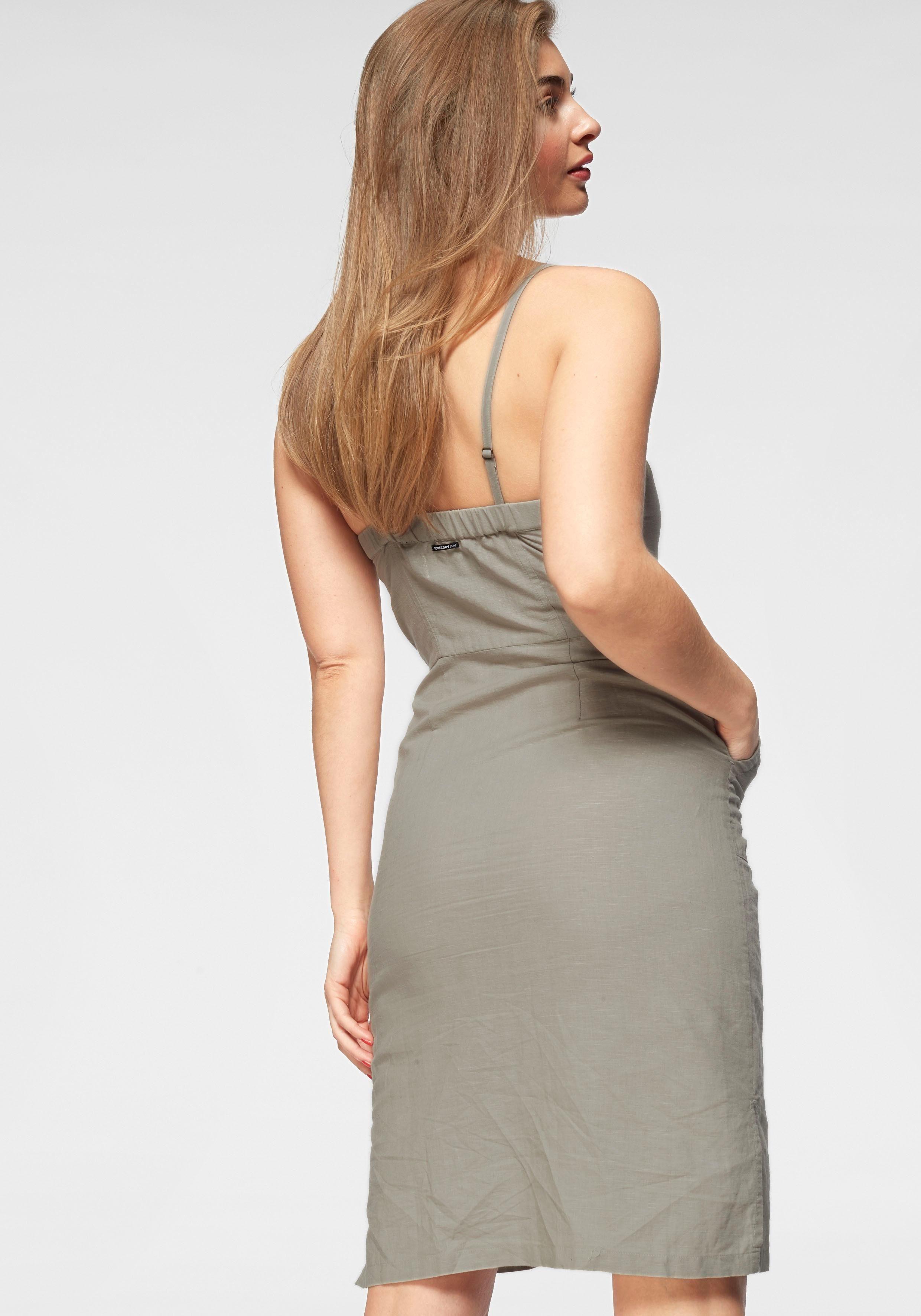 jurk met spaghettibandjes »MILA MIDI DRESS«