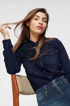 ltb jeansblouse »lucinda« blauw