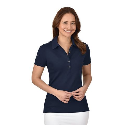 TRIGEMA Polo-Shirt mit Swarovski