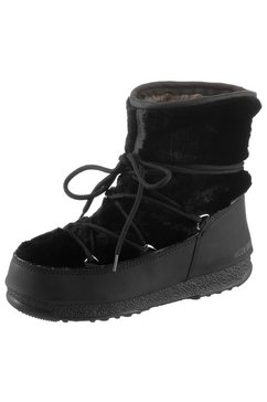 moonboot winterlaarzen »monaco low fur wp« zwart