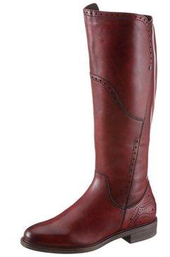 tamaris laarzen »lillit« rood
