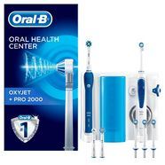 oral b mondverzorgingsset 'oxyjet + pro 2000' wit