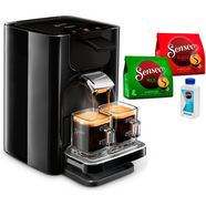 philips senseo-koffiepadautomaat hd7865-60 quadrante, met coffee boost, xl waterreservoir, zwart zwart