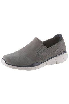 skechers slip-onsneakers »equalizer 3.0« grau