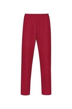 trigema pyjamabroek rood