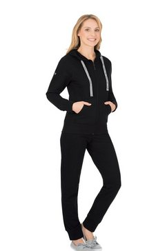 trigema joggingpak zwart