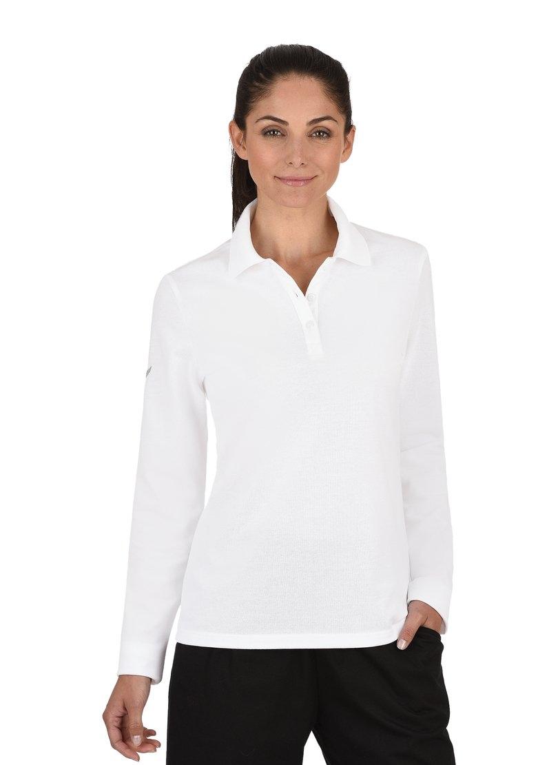 Trigema Poloshirt met lange mouwen - verschillende betaalmethodes