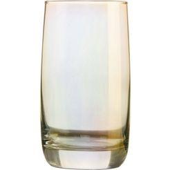 luminarc longdrinkglas goud