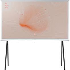 samsung serif-tv qe55ls01ra qled-tv (138 cm - 55 inch), 4k ultra hd, smart-tv wit