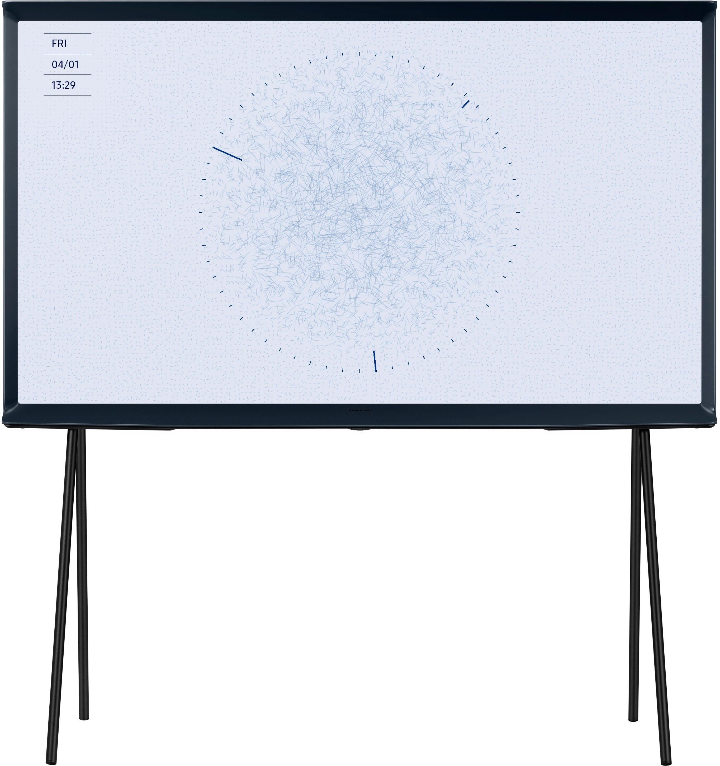 SAMSUNG Serif-TV QE49LS01RB QLED-tv (123 cm / 49 inch), 4K Ultra HD, Smart-TV nu online kopen bij OTTO