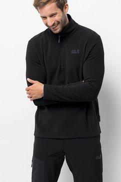jack wolfskin trui met staande kraag »zero waste rebel m« zwart