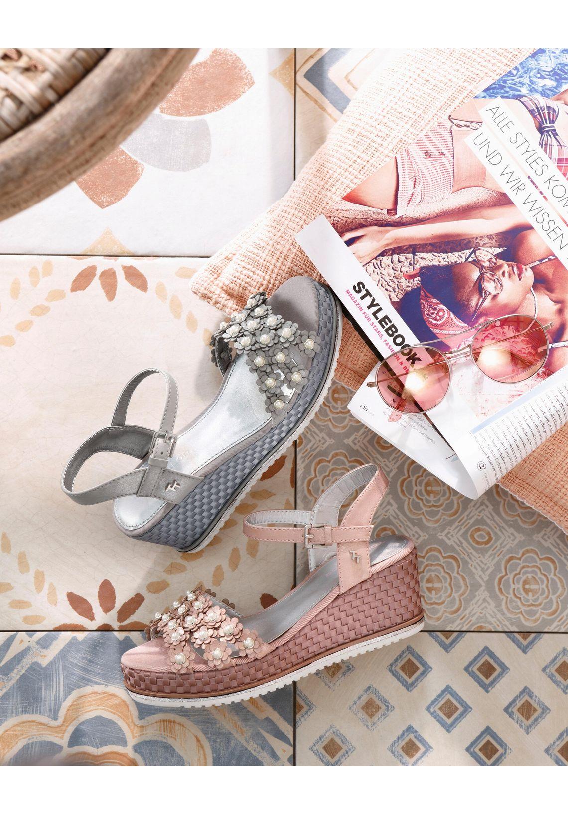 Tom Tailor sandaaltjes online kopen  grijs