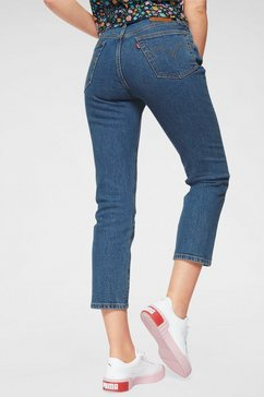 levi's 7-8 jeans »501 croped« blauw