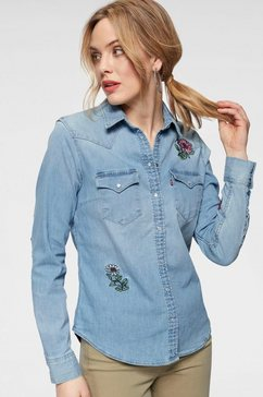 levi's jeansblouse »ultimate western-shirt« blauw