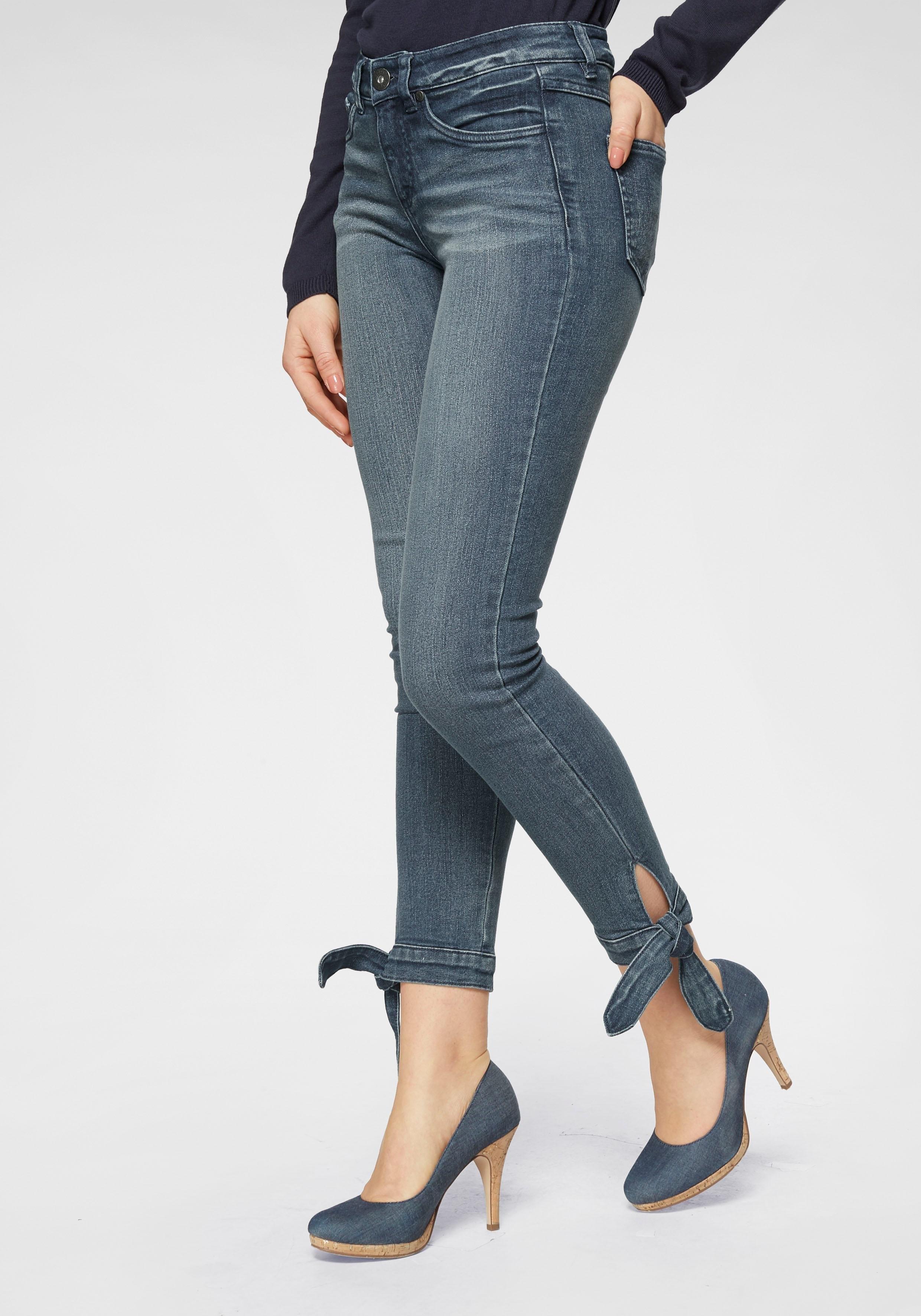 ARIZONA slim fit jeans nu online kopen bij OTTO