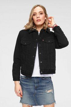 levi's jeansjack »ex-boyfriend sherpa« zwart