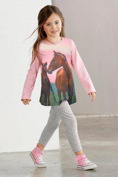 arizona shirt  legging (2-delige set) roze