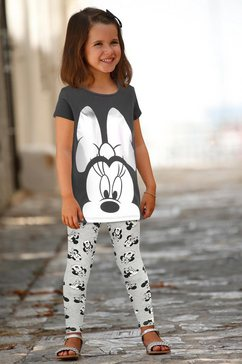 minnie mouse shirt  broek (set, 2-delig) zwart