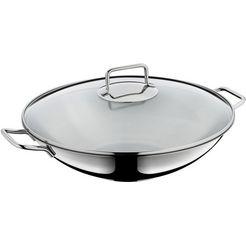 wmf wok oe 36 cm (1-delig) zilver