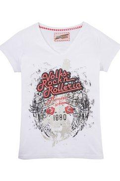 andreas gabalier collectie folklore-damesshirt met glinstersteentjes wit