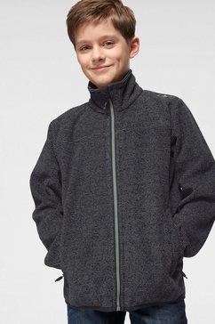 cmp tricot-fleecejack grijs