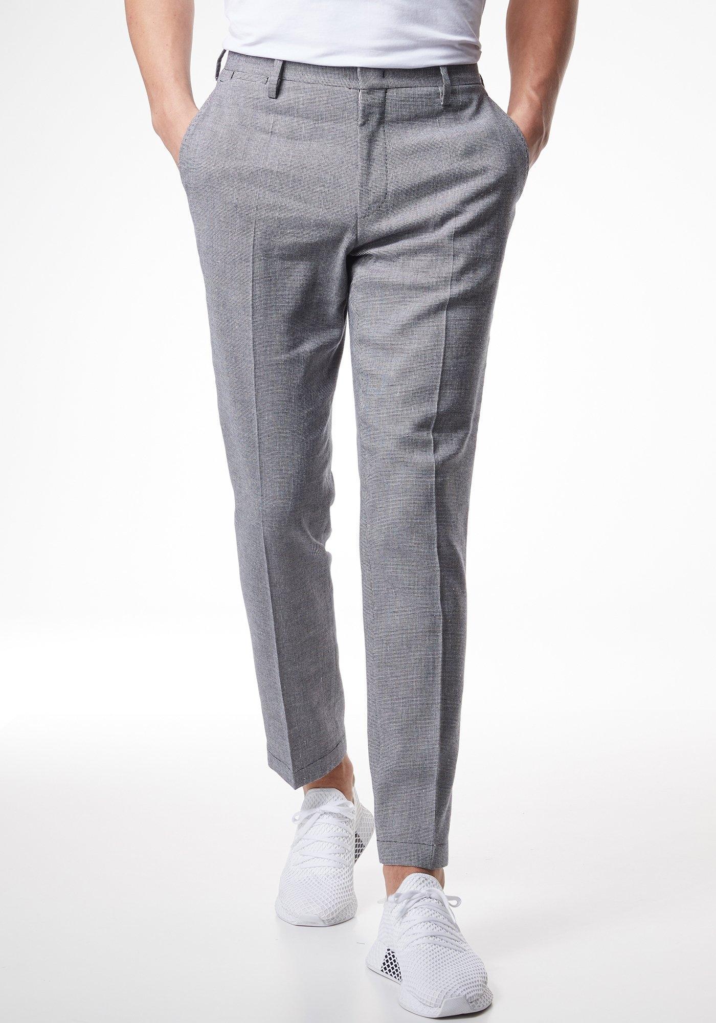 Pierre Cardin Futureflex broek van katoen/linnen - regular fit »Tony« voordelig en veilig online kopen