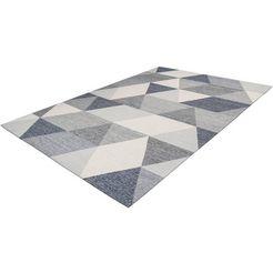 arte espina vloerkleed yoga 400 geschikt voor binnen en buiten, woonkamer grijs