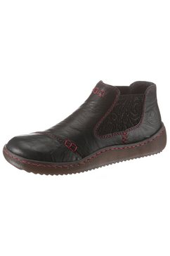 rieker chelsea-boots zwart